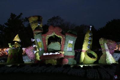浜松市製作 「ほほえみのハーモニー」ライトアップ
