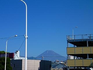 三島駅 北口 富士山 眺望