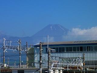 三島駅 南口 富士山 眺望
