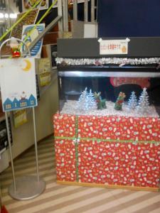 クリスマス水槽