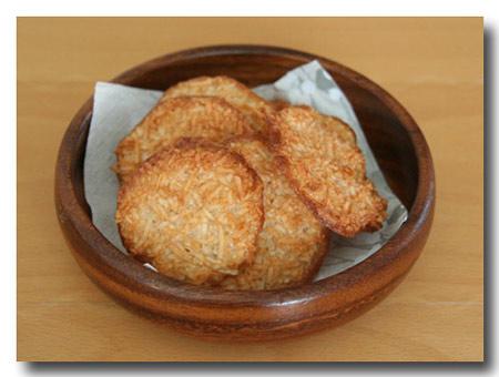 ココナッツシナモンクッキー