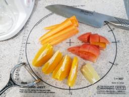 オレンジジュース材料