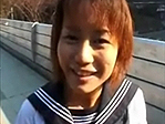 【無修正】手塚美紗 真冬に青姦を楽しむ変態娘!