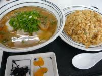 梶屋-チャーハン定食