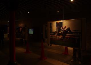 ダービーの歴史を展示