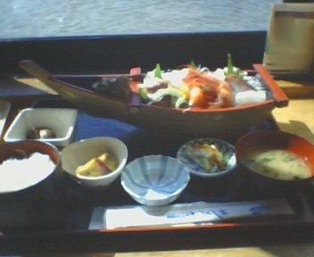 刺身船盛膳