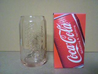 マクドナルド限定コークグラス「コカ・コーラ缶」