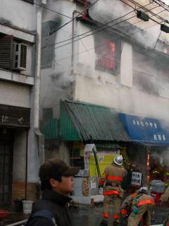 朝火事(1)