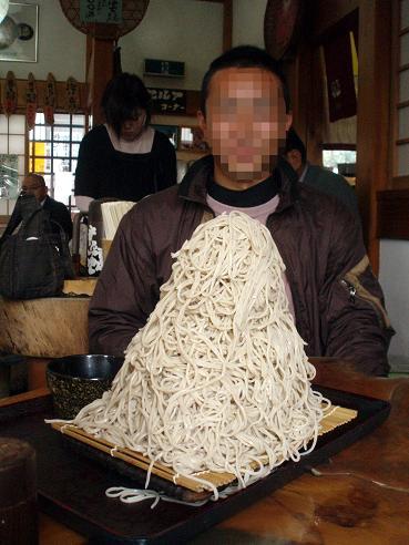 大盛り蕎麦