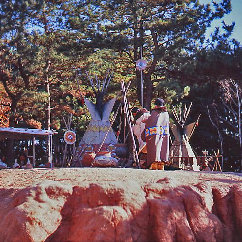 インディアンのテント