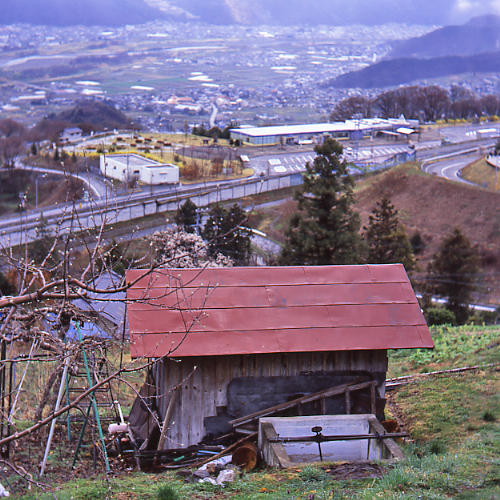 見晴らしの良い小屋