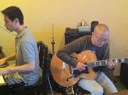 ピアノ受講とギター受講者