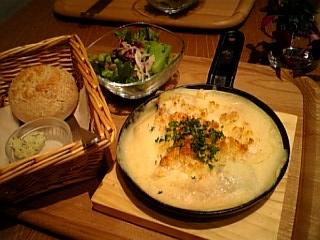 根菜の豆乳グラタン
