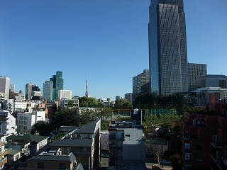 都会な景色