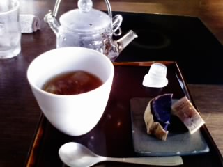 ライチ紅茶&さつまいも