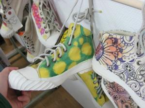 靴ペイント