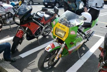 KROG東海ミーティング2012年もちや せんたあびれっじKR-1あんだぁびれっじKR250