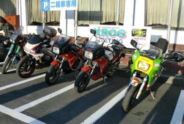 KROG東海ミーティング  2012年 ドライブイン もちや 二輪館