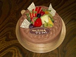 カリン12歳ケーキ