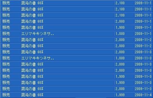 11月4日TS履歴3