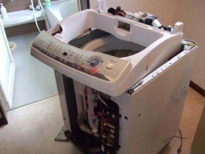 洗濯機 分解