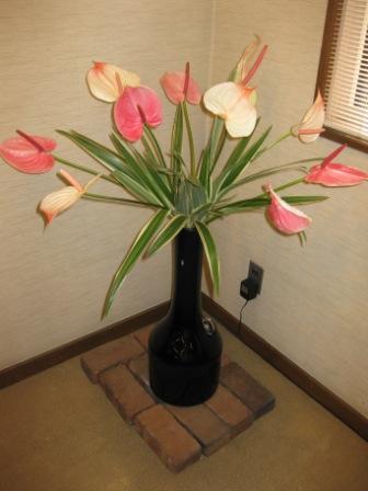 ピンク 白 お花