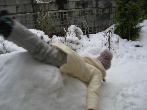 雪遊び 003