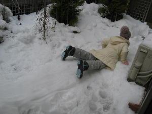 雪遊び 001