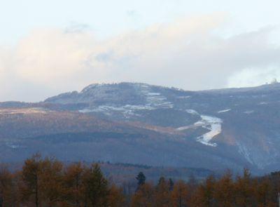 横津岳の雪2