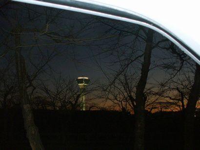 五稜郭の夕暮れ