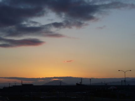 函館の夕暮れ2