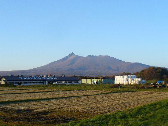 秋の北海道駒ケ岳