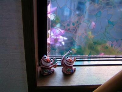 縮小 今朝の窓から 1