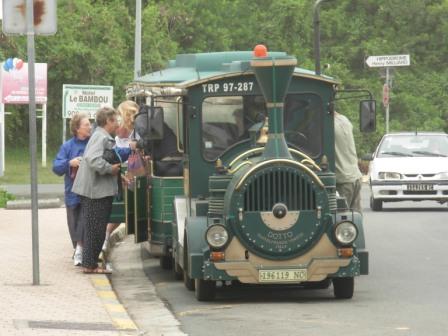 ニューカレの観光列車?