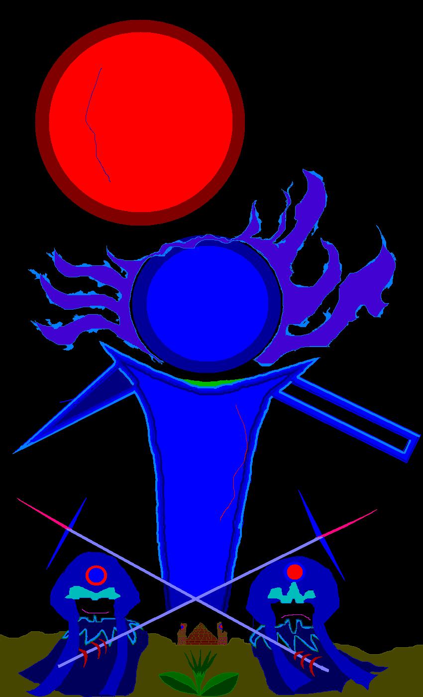 B-12-赤い月と青い朋