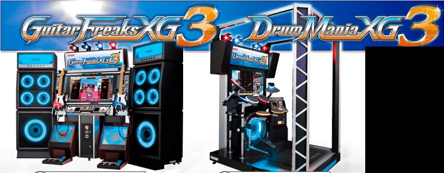 GUITARFREAKS-XG3-DRUMMANIA-XG3