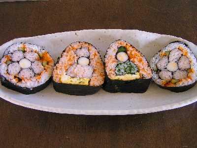 ひな人形寿司
