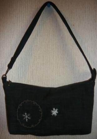 雪の結晶bag