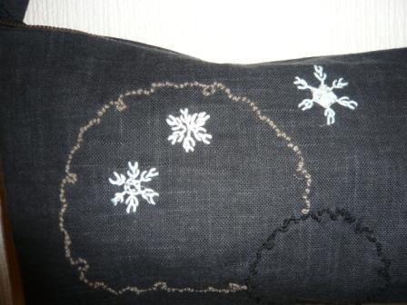 雪の結晶bag2