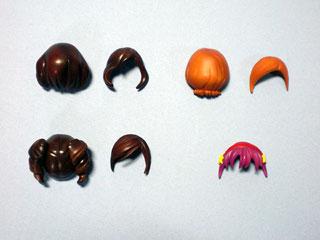 髪色実験土台