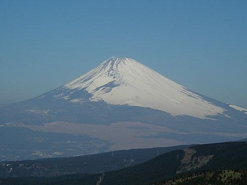 十国峠からの富士山