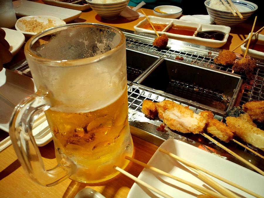 今日の晩餐?(^^)@イオン伊丹昆陽SC/串屋物語(by au CASIO CA003)