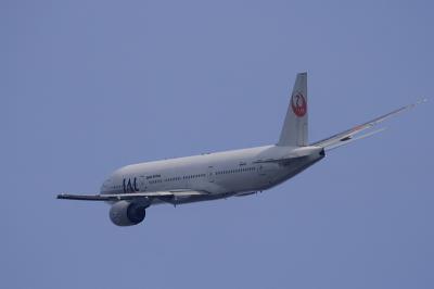 JAL B777-246 StarJet Procyon JL104@ミノルタ下付近