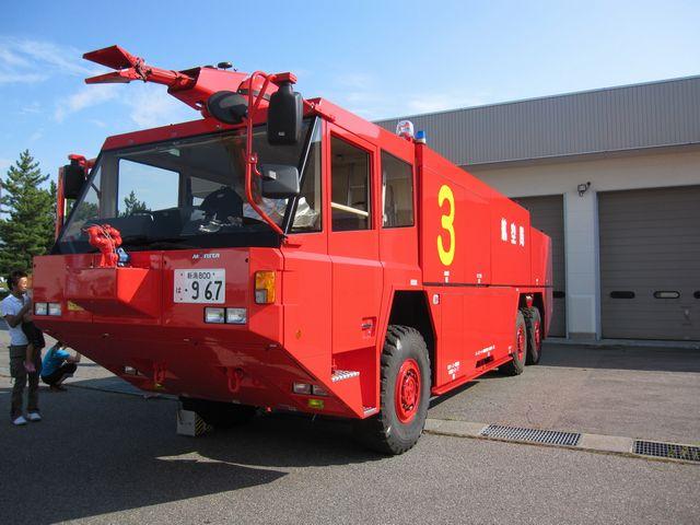 空港消防車