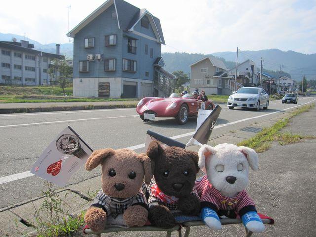 湯沢へ向かう途中