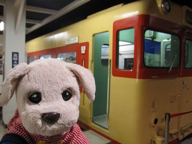 ボク、電車にのるよ