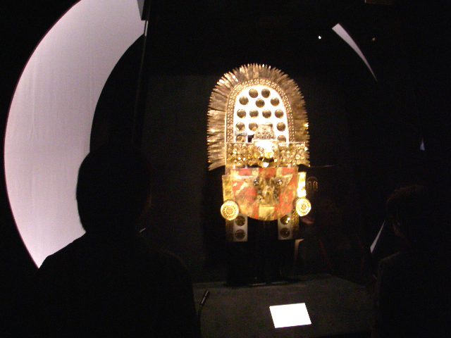 シカン展 黄金の仮面