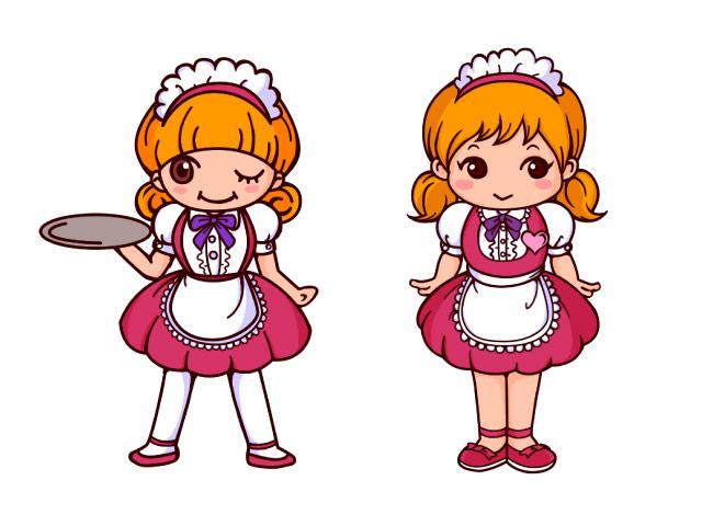 ボツ キャラクター メイド