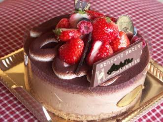 1月25日ケーキ