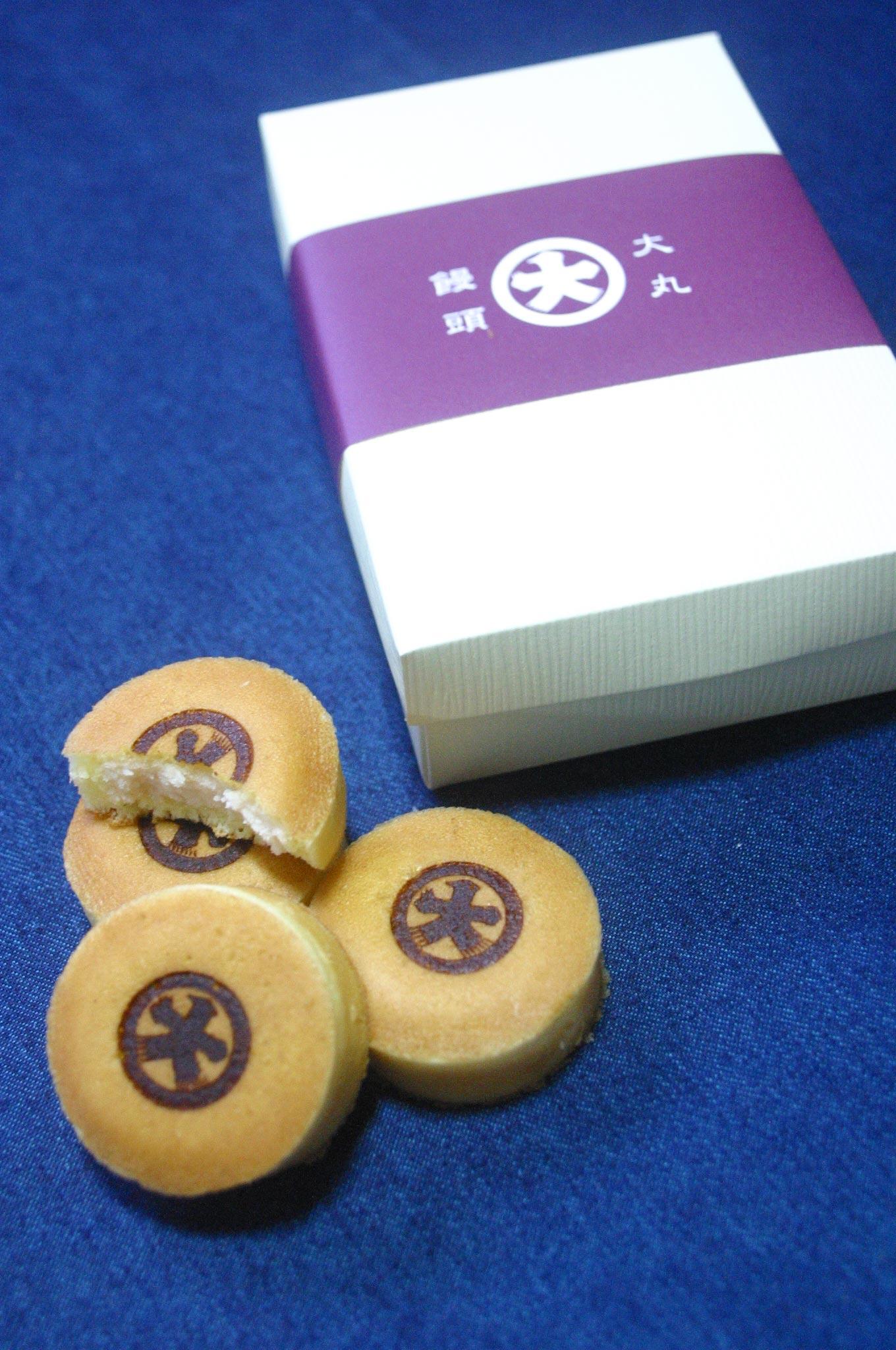 大丸饅頭(神戸元町)